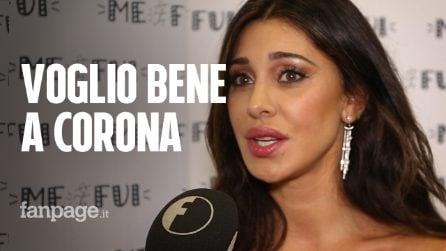 """Belén Rodriguez: """"Non sono mai riuscita a risolvere i problemi di Corona"""""""