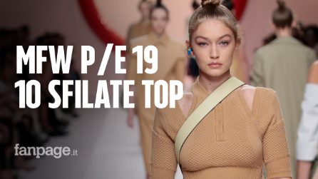 Milano Fashion Week: le 10 migliori sfilate Primavera/Estate 2019