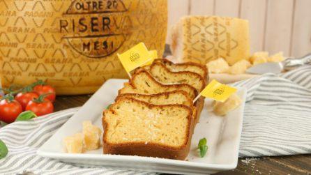 Plumcake al Grana Padano DOP Riserva: così buono non lo avete mai assaggiato!