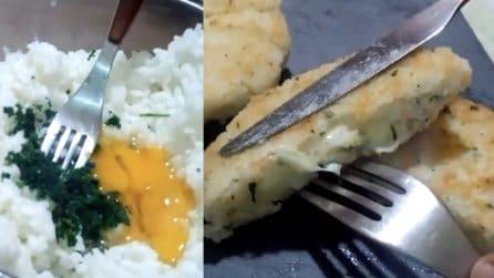 Hamburger di riso filanti e gustosi: i più piccoli ne andranno matti