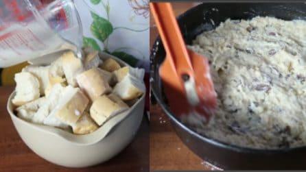 Torta di pane: l'idea saporita e semplice per riciclarlo