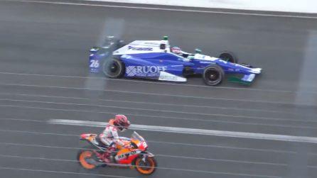 Marc Marquez sfida la Formula 1: l'epica gara sul circuito