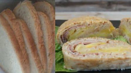 Polpettone di pane farcito: il modo gustoso per riciclarlo