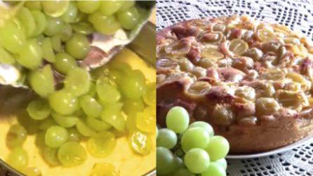 Torta all'uva: un dessert alternativo e dal gusto unico
