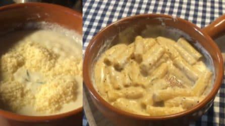 Tortiglioni al pepe in salsa di pecorino: la pasta più cremosa che avrete mai assaggiato