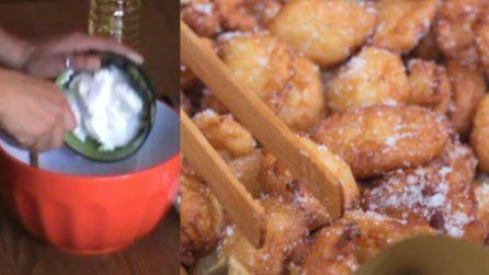 Frittelle di ricotta dolci: una tira l'altra