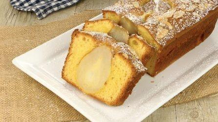 Plumcake alle pere: il dolce autunnale gustoso e soffice!