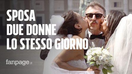 Sposa due donne lo stesso giorno: le reazioni della gente al matrimonio [Esperimento sociale]