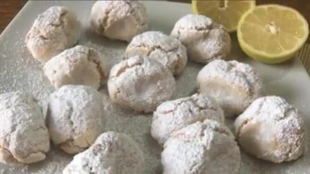 Pizzicotti a limone senza burro e uova: sapori semplici e buonissimi