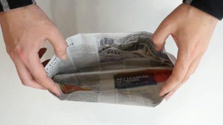 """Come riutilizzare un vecchio giornale: un oggetto """"alternativo"""" per la tua cucina"""