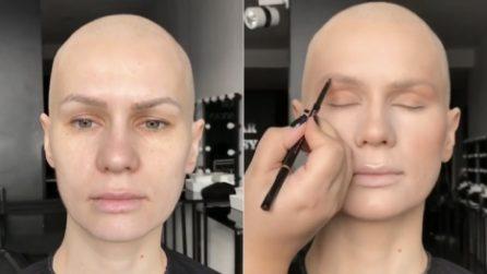 """""""Ha il cancro e mi ha chiesto di renderla bellissima"""": la meravigliosa trasformazione"""