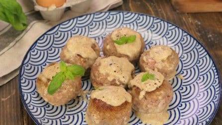 Pour milk over the meatballs: here's how to make them soft and tasty!