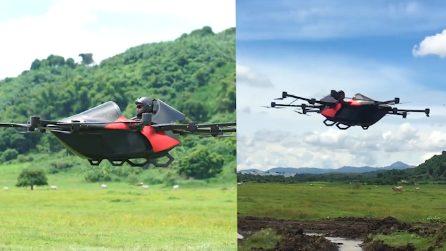 Le auto possono volare: ecco il primo prototipo del velivolo personalizzato