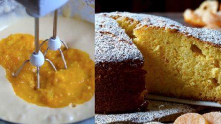 Torta ai mandarini: la ricetta del dolce soffice e gustoso