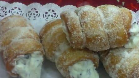 Cannoli fritti e ripieni: un'esplosione di gusto a ogni morso