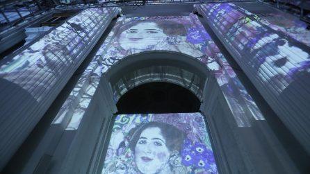 La presentazione della Klimt Experience a Napoli
