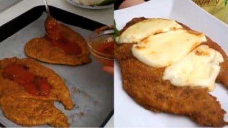 Cotolette di pollo con pomodoro e mozzarella: la ricetta del secondo piatto delizioso