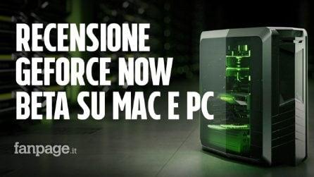 Recensione GeForce Now su Mac e PC: giocare con grafica al massimo senza gaming PC e anche sul Mac