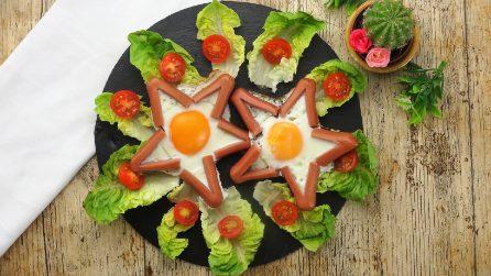 Come cucinare un uovo a forma di stella