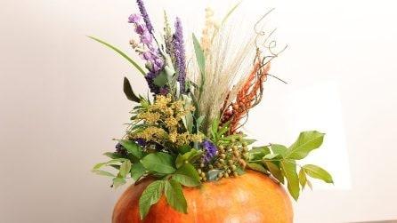 Come creare un vaso con una zucca
