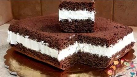 Torta al cioccolato con ripieno cremoso: il dolce goloso per grandi e piccini