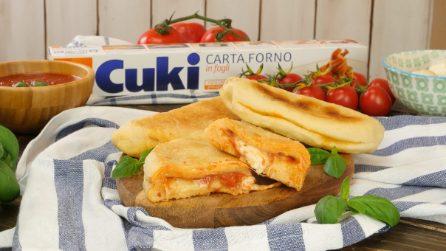 Calzoni alla pizzaiola: ecco come ottenerli soffici e gustosi in padella!
