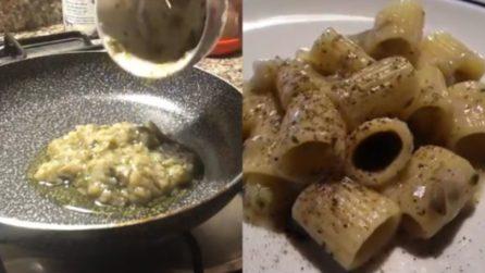 Mezzamaniche con crema ai carciofi e pecorino: la scarpetta è assicurata