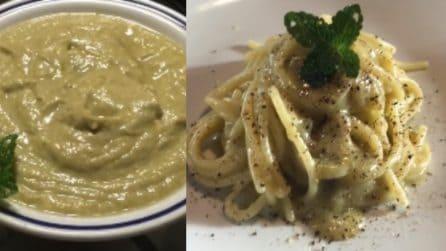 Spaghetti con crema di carciofi: saporiti, cremosi e semplici da preparare