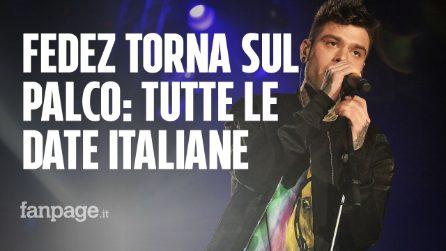 Fedez tour 2019: ecco le date dei concerti del rapper più seguito d'Italia