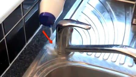 Come eliminare il calcare con il sale: il trucchetto da provare assolutamente
