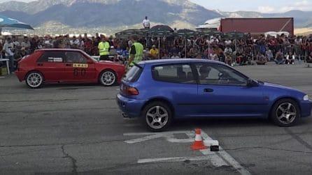 Lancia Delta vs Honda Civic: la sfida ha un netto vincitore