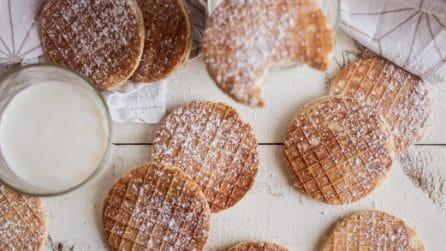 Wafers alla crema: perfetti per la colazione!