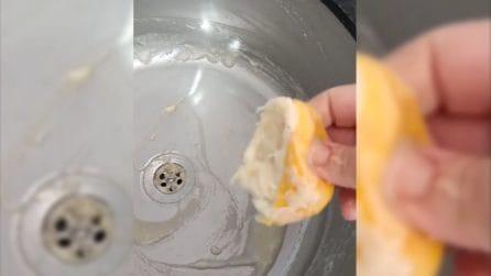 Come pulire e profumare il lavello: il metodo veloce e naturale