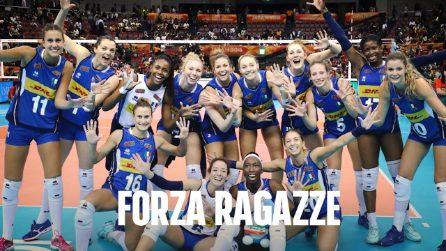 Italia-Cina, mondiali pallavolo femminile: l'Italia è in finale dopo 16 anni