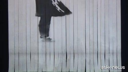 Banksy e il quadro distrutto, l'artista rivela il mistero
