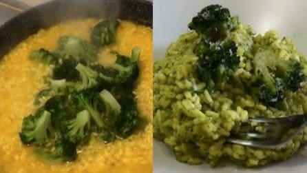 Risotto broccoli e zafferano: il successo a tavola è assicurato