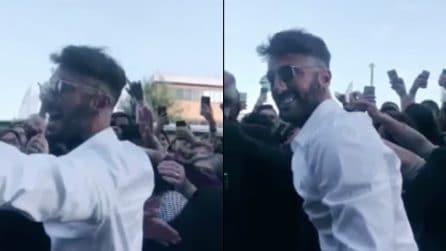"""Fabrizio Corona si scatena coi fan: """"Viva la libertà"""""""