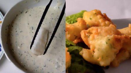 Frittelle di baccalà: una panatura perfetta e un sapore unico
