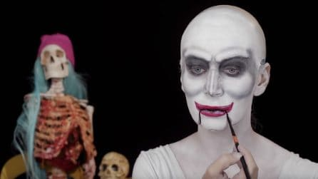 Come realizzare un trucco per Halloween davvero spaventoso: Saw l'enigmista
