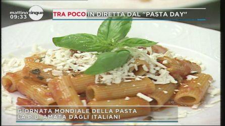 Oggi è la giornata mondiale della pasta