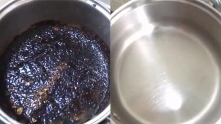 Come pulire il fondo bruciato di una pentola: il metodo perfetto