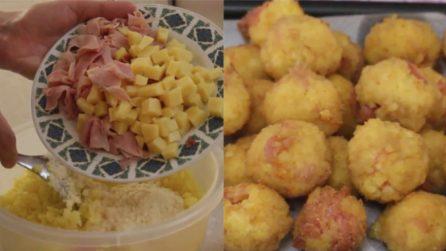 Polpette di riso fritte e ripiene: un secondo piatto diverso che accontenterà tutti