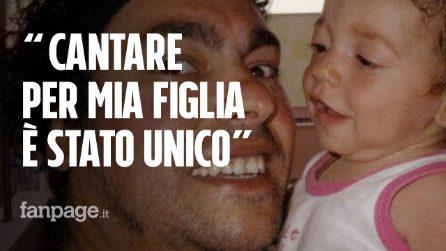 """Luca Guadagnini: """"Canto per la memoria di Aurora, ai padri come me consiglio la terapia del sorriso"""""""