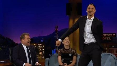 Un Ibrahimovic mai visto prima: si esibisce in una danza davvero particolare