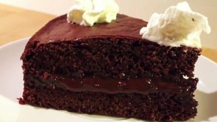 Torta pinguino senza burro e uova: leggera ma super golosa