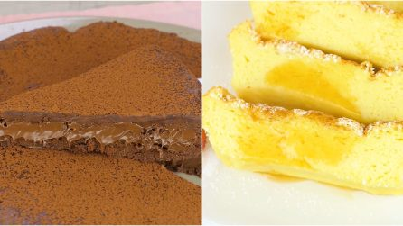 4 ricette che si preparano con soli 3 ingredienti!