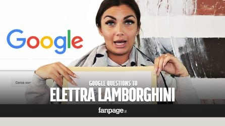 Elettra Lamborghini, Pem Pem, Mala, Geordie Shore: the singer answers Google's questions about her