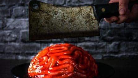 Come fare una torta cervello per Halloween