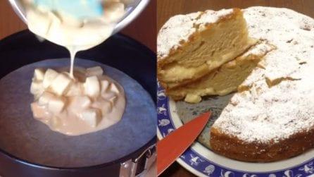 Torta di mele con crema pasticcera: l'aggiunta perfetta per un sapore unico
