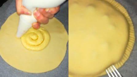Polacca aversana: il dolce tipico campano farcito con crema pasticciera